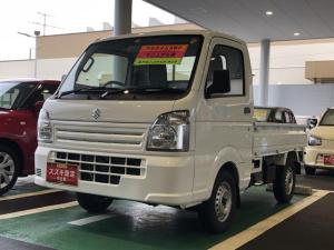 スズキ キャリイトラック KCエアコンパワステ パートタイム4WD 3型