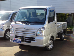 スズキ キャリイトラック KCエアコンパワステ 3型 4WD 5M/T ABS ラジオ