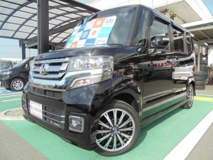 ホンダ N-BOXカスタム Custom Gターボ・Lパッケージ ナビ&ETC車載器付き
