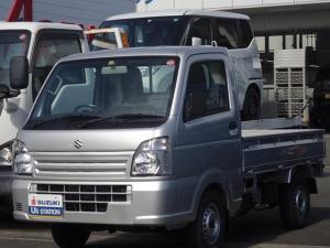 スズキ キャリイトラック KCエアコンパワステ 3型 両席エアバック AM/FMラジオ