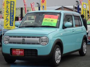 スズキ アルトラパン L 自動(被害軽減)ブレーキ プッシュ式スタート エアコン