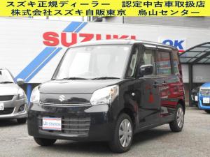 スズキ スペーシア X 2WD・衝突軽減B・ナビ・ETC付