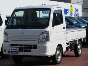スズキ キャリイトラック KCエアコンパワステ 3型 パートタイム4WD 3速AT