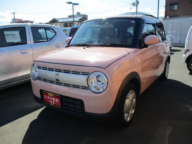 可愛らしいピンクのラパン S 4WD入りました! ●当社販売車両は全車、安心のメーカー保証/ディーラー保証付きです●