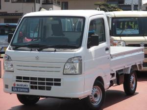 スズキ キャリイトラック KCエアコンパワステ 3型 4WD 3AT AM/FMラジオ