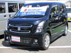 スズキ ワゴンRスティングレー スティングレー HYBRID X 自動軽減ブレーキ装備!