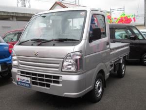 スズキ キャリイトラック KCエアコンパワステ 3型 4WD 5MT 走行6キロ