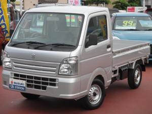 スズキ キャリイトラック KCエアコンパワステ 4型 4WD3AT スピーカ内蔵ラジオ