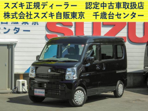 スズキ エブリイ JOINターボ 2型 4AT 衝突軽減ブレーキ CD