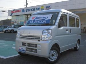スズキ エブリイ PA 3型 AM/FMラジオ装着 パートタイム4WD車