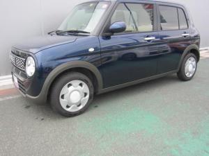 スズキ アルトラパン モード ブルーの内外装 安全ブレーキ採用
