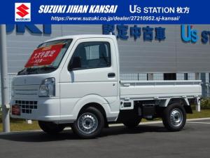 スズキ キャリイトラック KCエアコンパワステ 4型 4WD 5MT AM/FMラジオ
