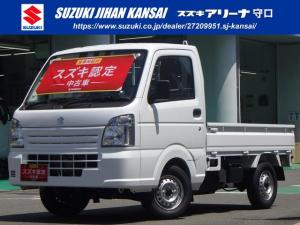 スズキ キャリイトラック KCエアコンパワステ 4型 AM/FMラジオ・5MT・4WD
