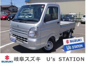 スズキ キャリイトラック KCエアコンパワステ 4型 4WD FAT 新車保証継承