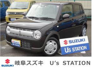スズキ アルトラパン L 2型 4WD DSBS 後退時ブレーキS 新車保証継承