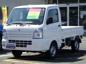 スズキ キャリイトラック KCエアコンパワステ 4型 両席エアバック AM/FMラジオ