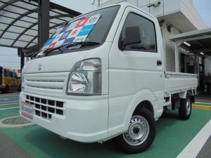 スズキ キャリイトラック KCエアコンパワステ 3型 4WD AT 車検整備受渡し