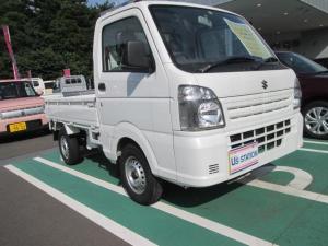 スズキ キャリイトラック KCエアコンパワステ 4型 4WD・5MT☆純正ラジオ付き☆