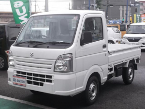 スズキ キャリイトラック KCエアコンパワステ 3型 4WD 3速オートマ ラジオ