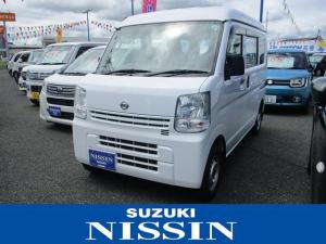 日産 NV100クリッパーバン DXハイルーフ 保証付販売車