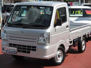 スズキ キャリイトラック KCエアコンパワステ 4型 4WD 5MT スピーカ付ラジオ