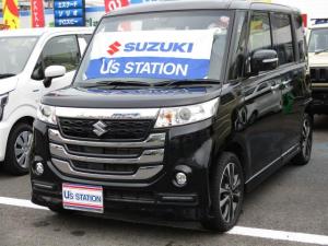 スズキ スペーシアカスタムZ ターボ  S-エネチャージ 両側電動スライドドア 車検付