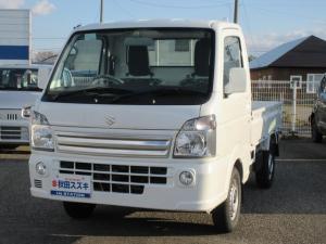 スズキ キャリイトラック KX 3型4WD AT フォグランプ 衝突軽減S CDラジオ