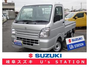 スズキ キャリイトラック KCエアコンパワステ 4型 DCBS 4WD AT 新車保証
