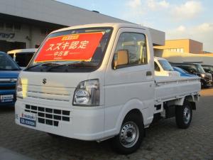 スズキ キャリイトラック KCエアコンパワステ 4型 4WD 5速マニュアルミッション