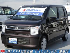 スズキ ワゴンR FA  新車保証継承/オーディオレス車/リースアップ車