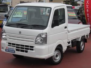 スズキ キャリイトラック KCエアコンパワステ 4型 4WD/5MT スピーカーラジオ