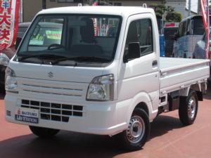 スズキ キャリイトラック KCエアコンパワステ4型 2WD/5MT デュアルエアバック