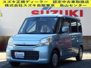 スズキ スペーシア 車いす移動車 X 2型リアシート付 2WD