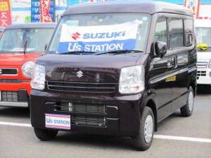 スズキ エブリイ JOINターボ 3型  4WD 自動衝突軽減ブレーキ