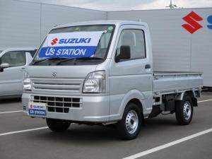スズキ キャリイトラック KC農繁 3型 4WD 5MT デフロック機構 4輪ABS