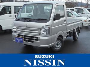スズキ キャリイトラック KCエアコンパワステ 4WD 5速マニュアル 保証付販売車