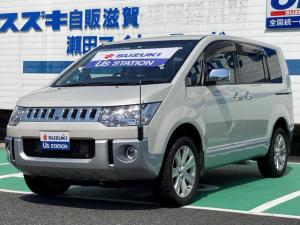 三菱 デリカD:5 シャモニー ディーゼルターボ 4WD パワーシート ETC