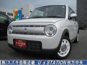 スズキ アルトラパン ホワイトエディション 衝突軽減ブレーキ/メーカー保証継承/