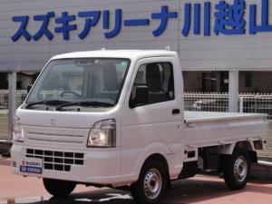 スズキ キャリイトラック KCエアコンパワステ 4型4WDオートマチックデュアルカメラ