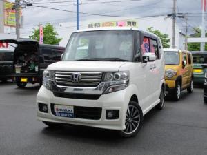 ホンダ N-BOXカスタム G・ターボパッケージ バックモニター付ナビ 4WD
