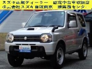 スズキ ジムニー XG 8型 4WD・4速AT・メモリーナビ・ETC付 8型 4WD・4速オートマ・メモリーナビ・地デジ・CD・ETC付・キーレスエントリー・パワーステアリング・パワーウインド