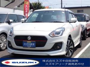 スズキ スイフト RSt 指定ナビ5万円サポート 衝突軽減S 6速AT ターボ