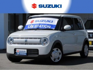 スズキ アルトラパン S 全方位モニター付ナビ・車検整備・1年保証・スマートキー
