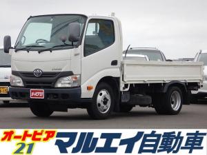 トヨタ ダイナトラック 4.0DT 2t平ボディ 低床 木製ジャストロー