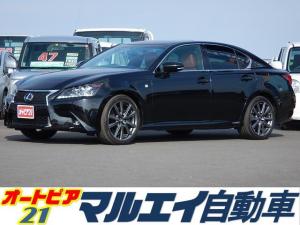 レクサス GS 300h Fスポーツ サンルーフ 純正ナビ ソナー 本革