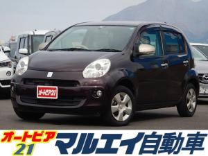 トヨタ パッソ プラスハナ 純正CDオーディオ スマートキー ETC オートエアコン