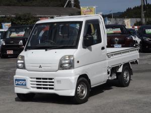 三菱 ミニキャブトラック ベースグレード 4WD パワステ 走行少ない