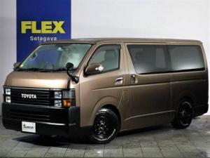 トヨタ レジアスエースバン S-GL Renoca by FLEX ベッドキット ナビ付