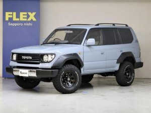 トヨタ ランドクルーザープラド TX Renoca COLORBOMB ディーゼルターボ 4WD フレックスオリジナルコンプリート 新品BFグッドリッチMTタイヤ 新品ジムライン16インチAW 新品ウッドコンビハンドル 最新ナビ導入可