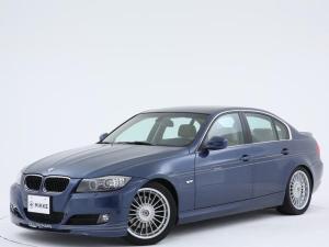 BMWアルピナ D3 ビターボ リムジン アルピナブルー / 社外ナビ / 6速MT / 左ハンドル / スマートキー / 禁煙車 /  シートヒーター / カロッツェリア製HDDナビ